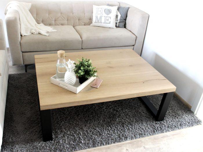 oak table nature hard massive luxus design tauruswood