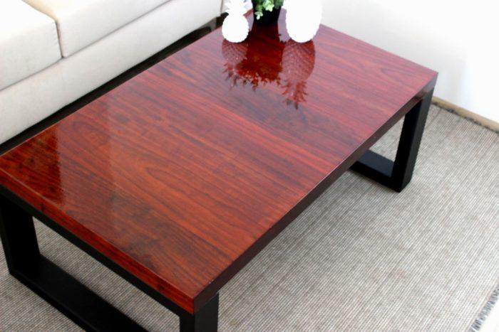 padouk luxury hard massive tauruswood table